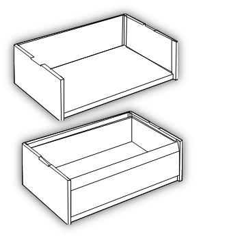 Zubehör Ablagefach und Schublade2
