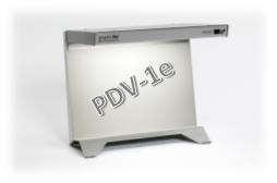 Mobile Desktop Normlichtkabine - PDV1e